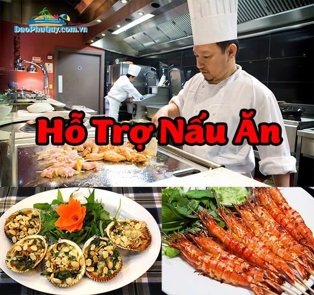 Hỗ Trợ Nấu Ăn